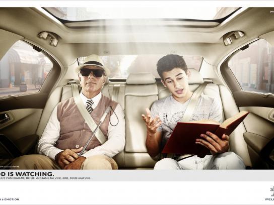 Peugeot Print Ad -  Blind