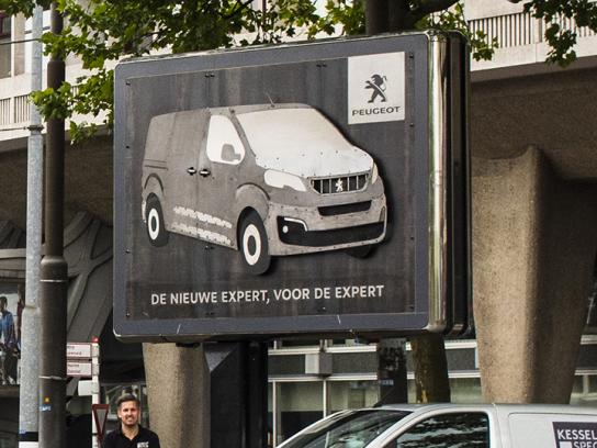 Peugeot Outdoor Ad - Metalwork