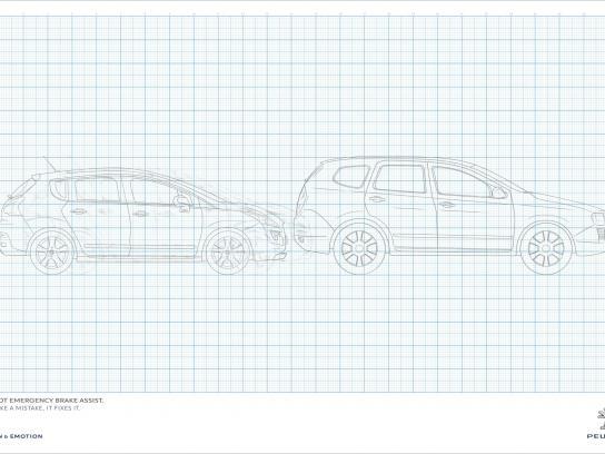 Peugeot Print Ad -  Car