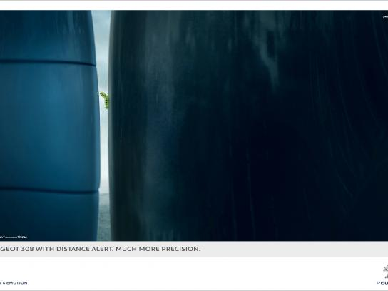 Peugeot Print Ad -  Caterpillar