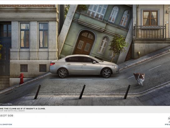 Peugeot Print Ad -  Dog