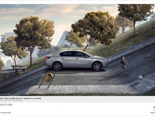 Peugeot Print Ad -  Kid