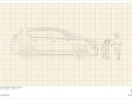 Peugeot Print Ad -  Kids