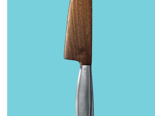 Peugeot Print Ad -  Knife
