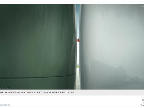 Peugeot Print Ad -  Ladybug