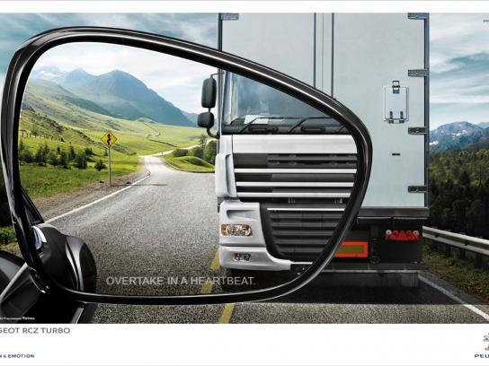Peugeot Outdoor Ad -  Truck
