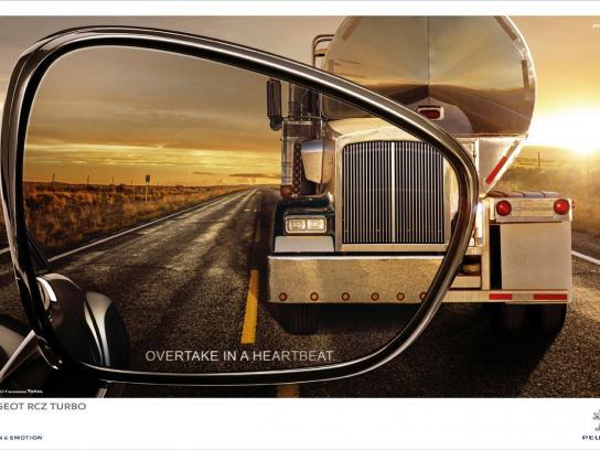 Peugeot Outdoor Ad -  Tank truck