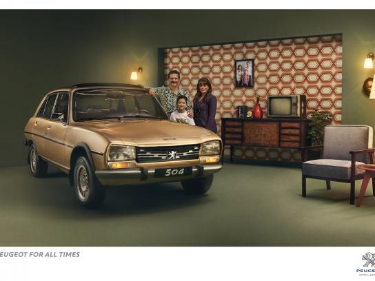Peugeot Print Ad - Peugeot for all times, 1