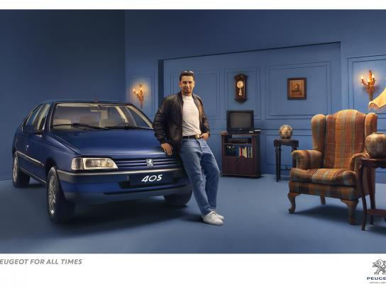 Peugeot Print Ad - Peugeot for all times, 2