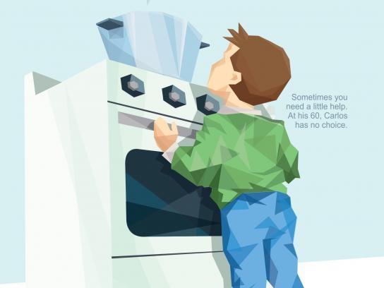 Pfizer Print Ad -  Kitchen