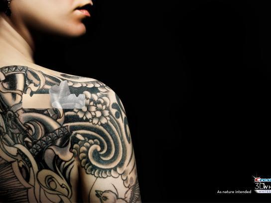 Crest Print Ad -  Tattoo