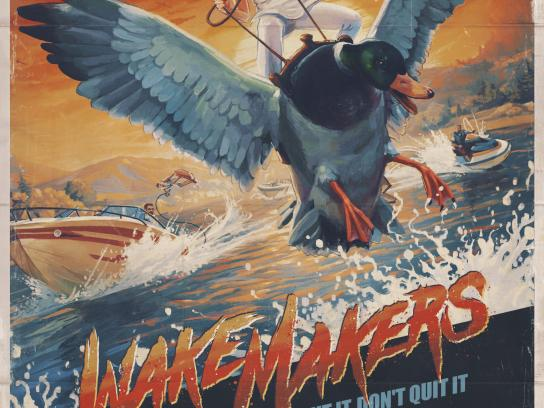 Progressive Insurance Print Ad - Wakemakers