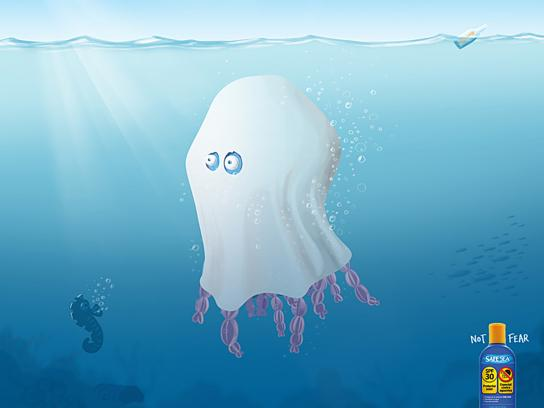 Safe Sea Print Ad -  Phantom