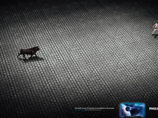 Philips Print Ad -  Bull