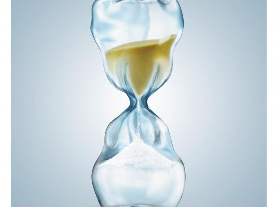 Philips Print Ad - Hourglass