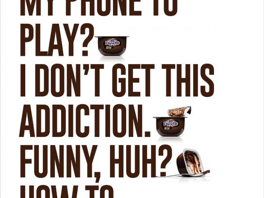 Danette Print Ad - Phone