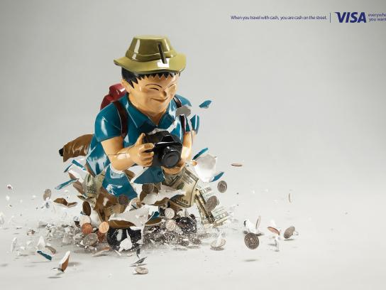Visa Print Ad -  Piggy bank, 3