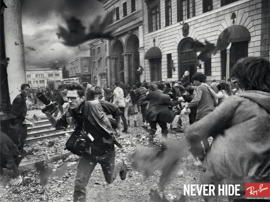 Ray-Ban Outdoor Ad -  Photojournalist