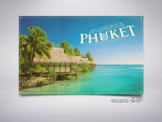 City of Buenos Aires Outdoor Ad -  Phuket