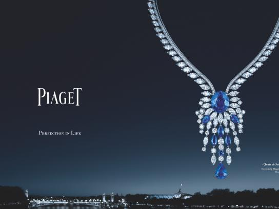 Piaget Print Ad -  Perfection in life, 1