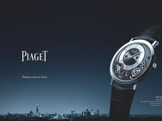 Piaget Print Ad -  Perfection in life, 3