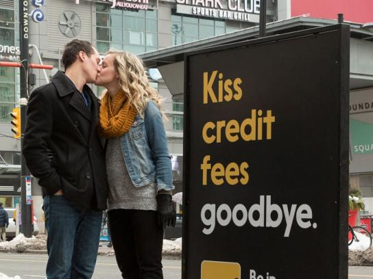 Interac Outdoor Ad -  Mistletoe