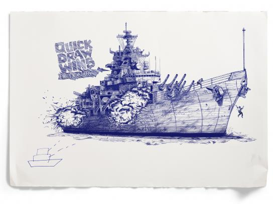 Pictionary Print Ad -  Battleship