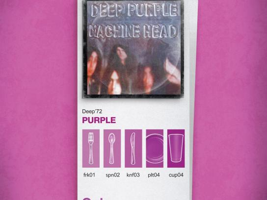 Rumba Print Ad -  Purple
