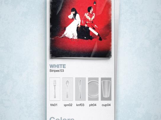 Rumba Print Ad -  White