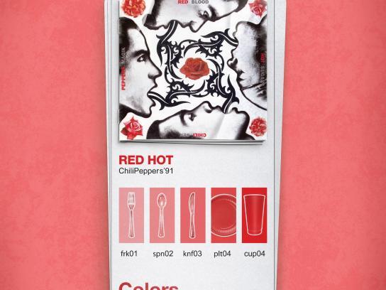 Rumba Print Ad -  Red
