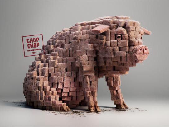 Ammeloo Print Ad - Chop-Chop 2.0, Pork