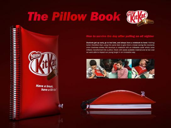 Kit Kat Direct Ad -  Pillow Book