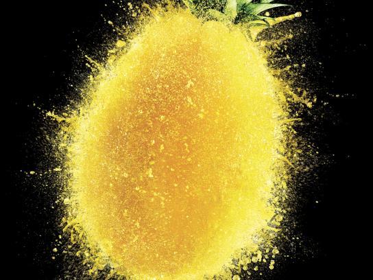 Tefal Print Ad -  Pineapple