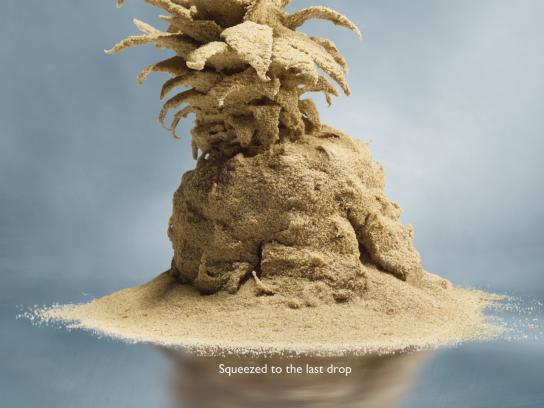 Philips Print Ad -  Pineapple