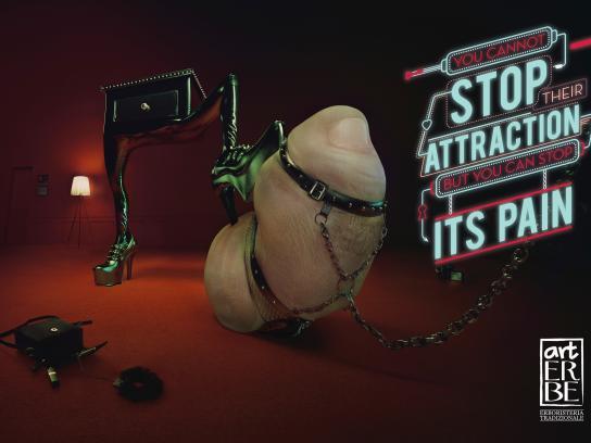 Art Erbe Print Ad - Pinkie