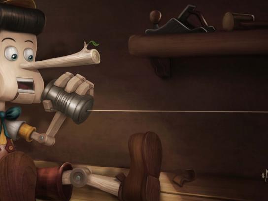Colsubsidio Print Ad -  Pinocchio