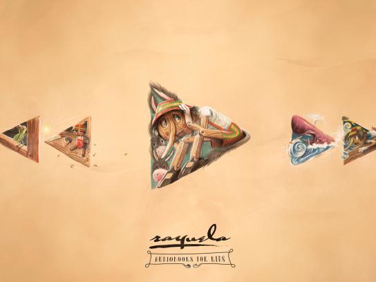 Librería Rayuela Print Ad - Pinocchio