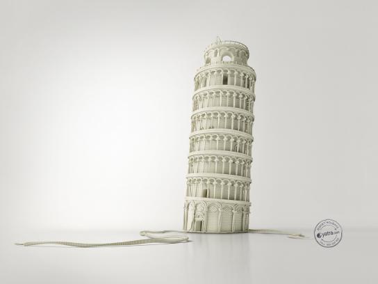 Yatra Print Ad -  Pisa