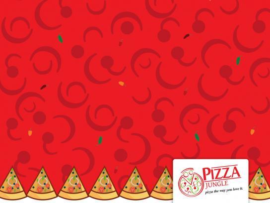 Pizza Jungle Print Ad - Owambe-Ankara. 1