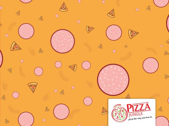 Pizza Jungle Print Ad - Owambe-Ankara, 3