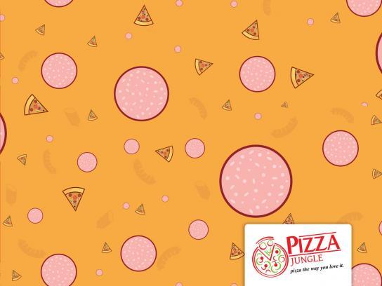 Pizza Jungle Print Ad - Owambe-Ankara, 3