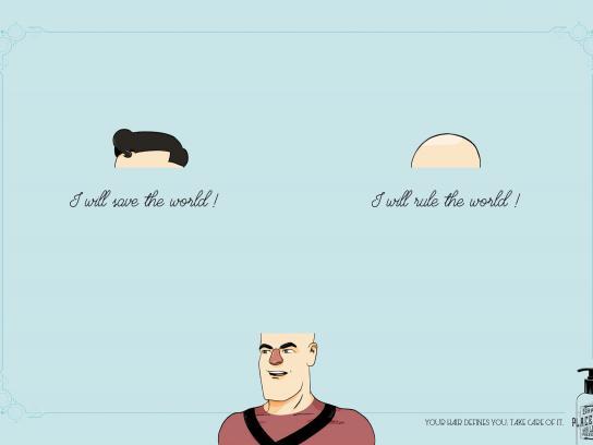 Placentum Print Ad -  Superhero