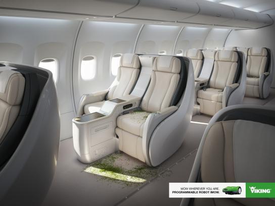 Viking Print Ad -  Plane