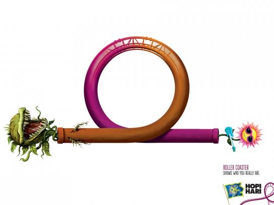 Hopi Hari Theme Park Print Ad -  Plant