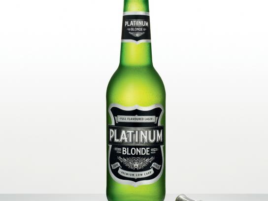 Platinum Blonde Print Ad -  Corkscrew