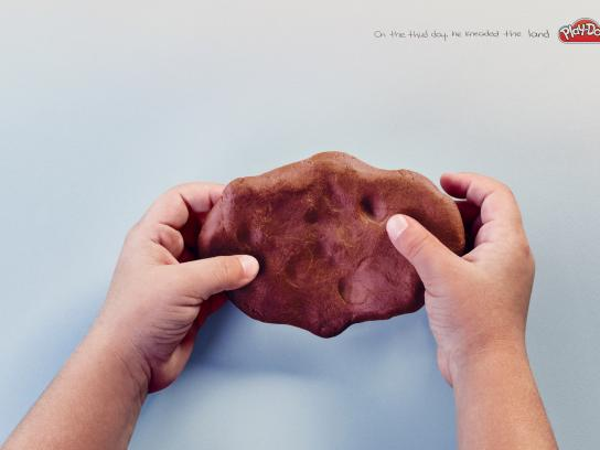 Play-Doh Print Ad - The third day