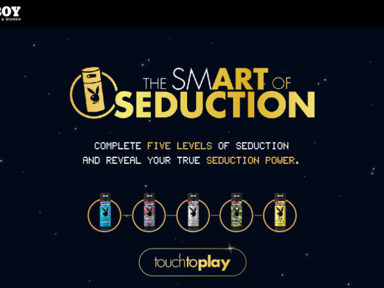 Playboy Digital Ad - The smART of Seduction