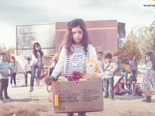 World Vision Print Ad - Playground