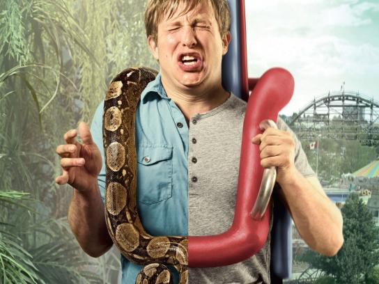 Playland Print Ad -  Snake