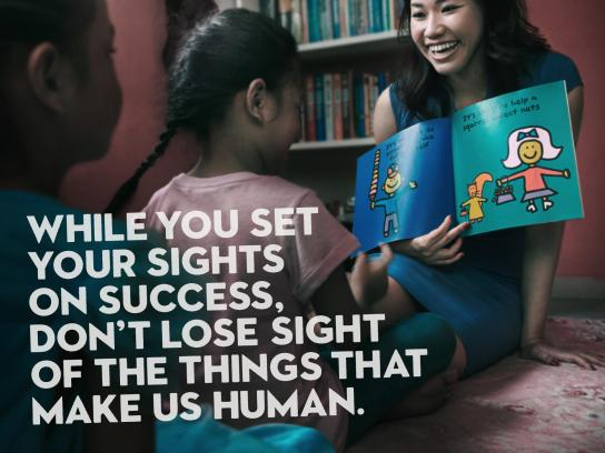 Singapore Kindness Movement Print Ad - Be Greater, 2
